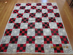 Vintage Hand Made Quilt 66 x 75