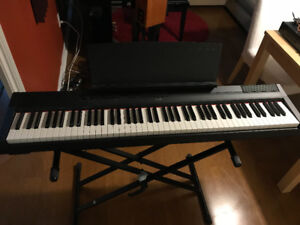 Yamaha P115 digital piano, 88 weighted key, mint condition
