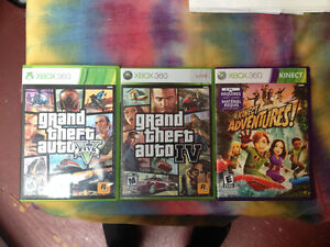 xbox360 with motion sensor + games