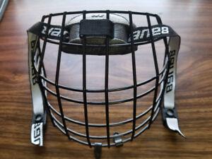Skating helmet cage