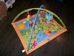 tapis d'éveil avec arches