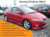 Honda Civic 2.2 I-CDTI TYPE S GT ,FREE 15 MONTHS WARRANTY