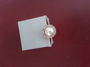 NEW Pearl Ring - size 9  for sale