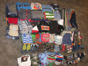 200+ items Boys size 4, 5, 6 kids clothes, shoes, boots, jackets