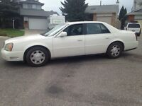 2002 Cadillac Deville ( new winter tires , excellent condition)