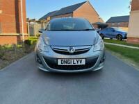 2011 Vauxhall Corsa 1.4 i 16v SRi 3dr (a/c) Hatchback Petrol Manual