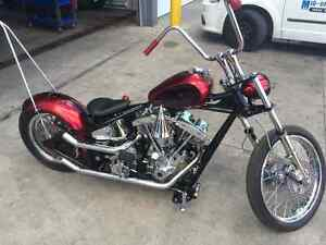 Harley Davidson Chopper/Bobber Full Custom