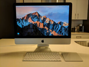 iMac 21.5 inch, 2013-2014, 8 GB Memory, in Perfect Condition