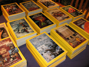 NATIONAL GEOGRAPHIC MAGAZINES FOR SALE!!  $10/YR