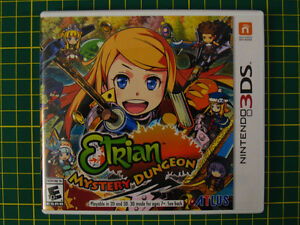 Etrian Mystery Dungeon (3DS, like new)