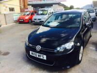 2010 Volkswagen Golf 1.6TDI ( 105ps ) Tech 2010MY BLUEMOTION Metallic Black