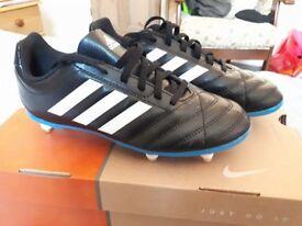 Brand New Adidas Children's Football Boots - Size 4UK