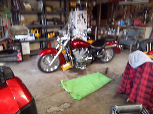 750 Honda Shadow Areo