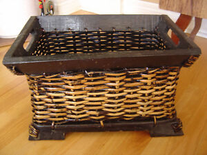 Brand new with tags set of 2 nesting baskets decorative storage London Ontario image 2