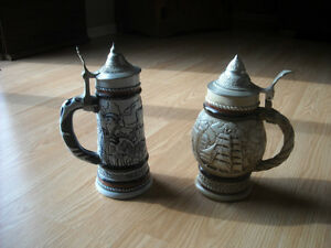 HANDCRAFTED DECORATIVE BEER STEINS Kitchener / Waterloo Kitchener Area image 1