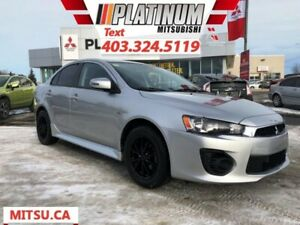 2017 Mitsubishi Lancer ES  | Balance of 10 Year Warranty!