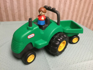 Little Tikes Tractor & Wagon