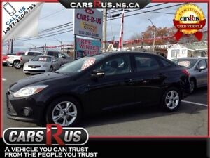 2014 Ford Focus SE.....Includes 4 FREE winter tires!!