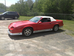 1991 CAMARO CONVERTIBLE FOR SALE