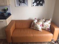 Ikea Tan sofa -Klippan- £45