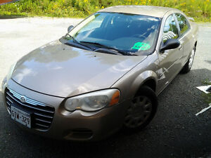 2004 Chrysler Sebring SXT Sedan