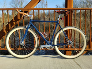 PRICEDROP State Bicycle 4130 Fixed Gear , Fixie, Track Bike 55cm