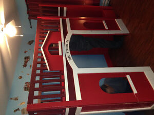 Fire House Loft Bed