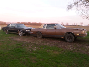 Part Out. 1980 & '85 Pontiac Grand Prix
