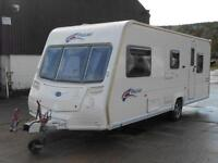 Bailey Pageant Provence S6. 5 Berth Caravan. Double Dinette. Centre Washroom.