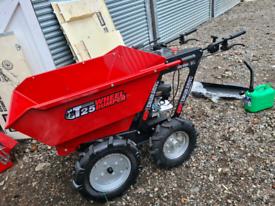 Mini Dumper petrol 300kg wheel barrow new