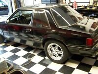 Mustang Fox body Chrome ponies with rubber 4 bolt