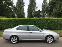 ALFA ROMEO 166 3.0 V6 24V SUPER LUSSO, 1 PRE OWNER + 2KEYS + HPI CLEAR + HISTORY