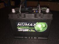 Caravan numax leisure battery