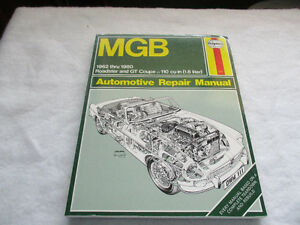 New MGB repair manual