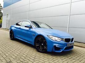 2014 64 Reg BMW M4 3.0 DCT Coupe + YAS MARINA BLUE + HUGE SPEC +