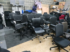 Herman miller Aeron Size B fully loaded free delivery
