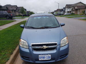 Chevy Aveo 2007 $900.00 OBO as in condition 190km.