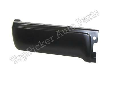 FOR 2009-2014 FORD F150 STYLESIDE REAR BUMPER END BLACK W/O SENSOR HOLE LH NEW