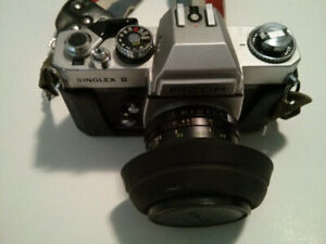 Ricoh Singlex II with Leather Case
