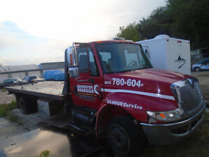 2007 flatbed International Tow Truck for sale