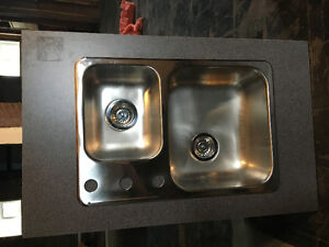 Gas hot water tank and new SS kitchen sink for sale