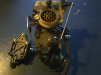 Reduced Evinrude 33 HP Carburetor and Fuel Pump