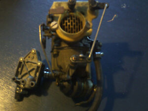 Reduced Evinrude 33 HP Carburetor and Fuel Pump