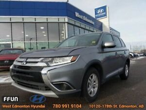 2016 Mitsubishi Outlander ES AWD Bluetooth Heated Seats