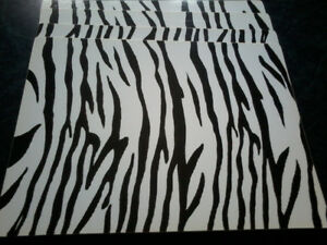 Set of Four Zebra Print Placemats ($11.95)