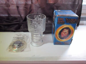Lord of the Rings Glass Goblets