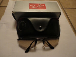 Like new in box Rayban sunglasses with case cleaning cloth London Ontario image 2