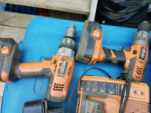 Selling Ridgid Lithium Ion Tools
