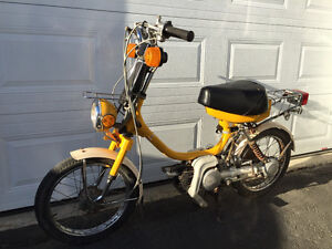 Mobylette, Moped, Yamaha QT50 1981