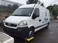 Vauxhall Movano 2.5 dti breaking for spares 2005
